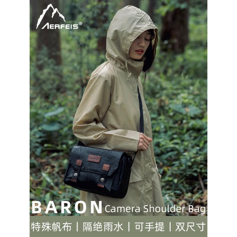 相机包单反单肩佳能单反包女富士sony微单包索尼男阿尔飞斯摄影包