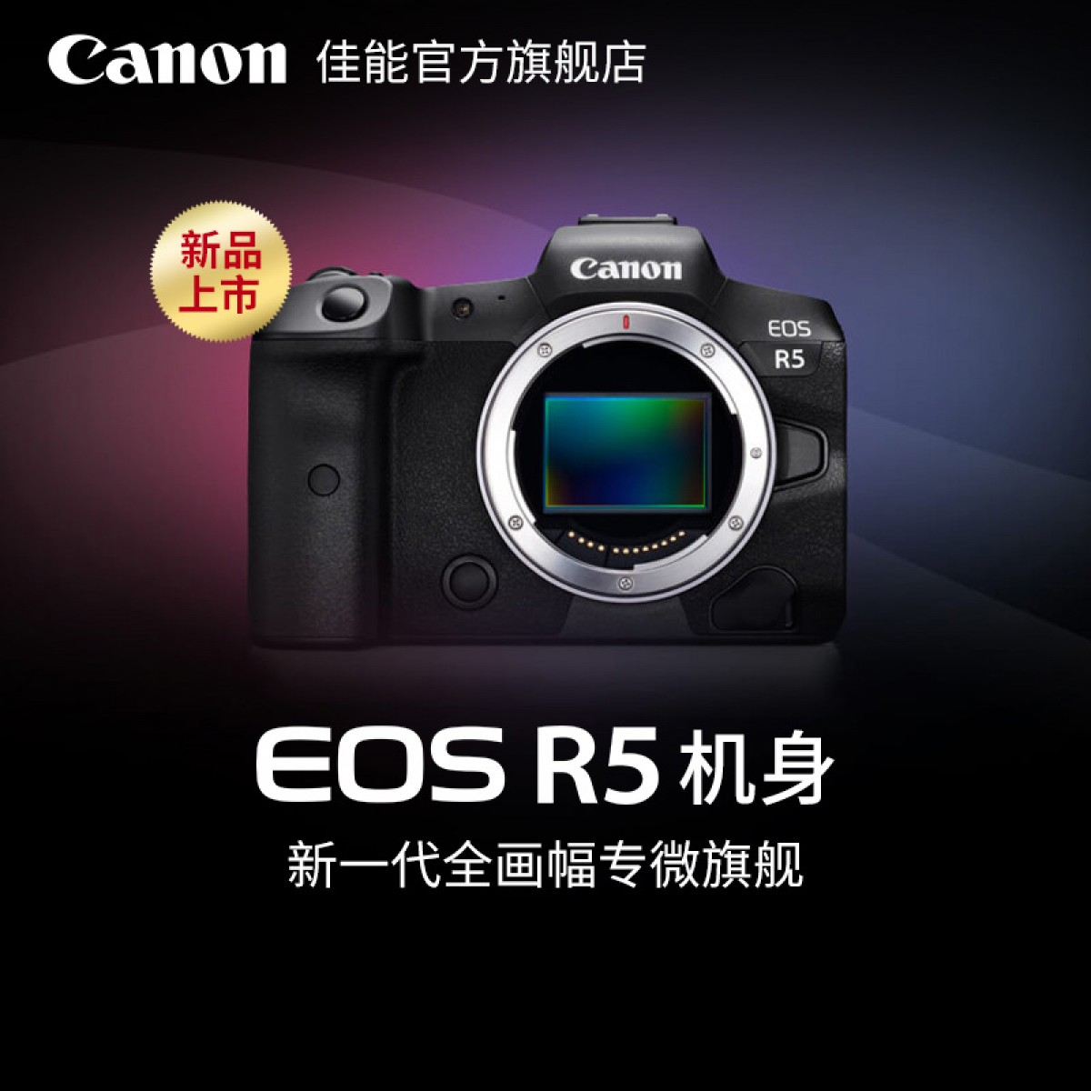 Canon/佳能 EOS R5 单机身 24-105套机 全画幅专业级微单相机专微