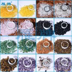 雁牌装饰画用彩钻水晶钻玛瑙曜石晶瓷画京瓷画材料耗材东陵石虎石