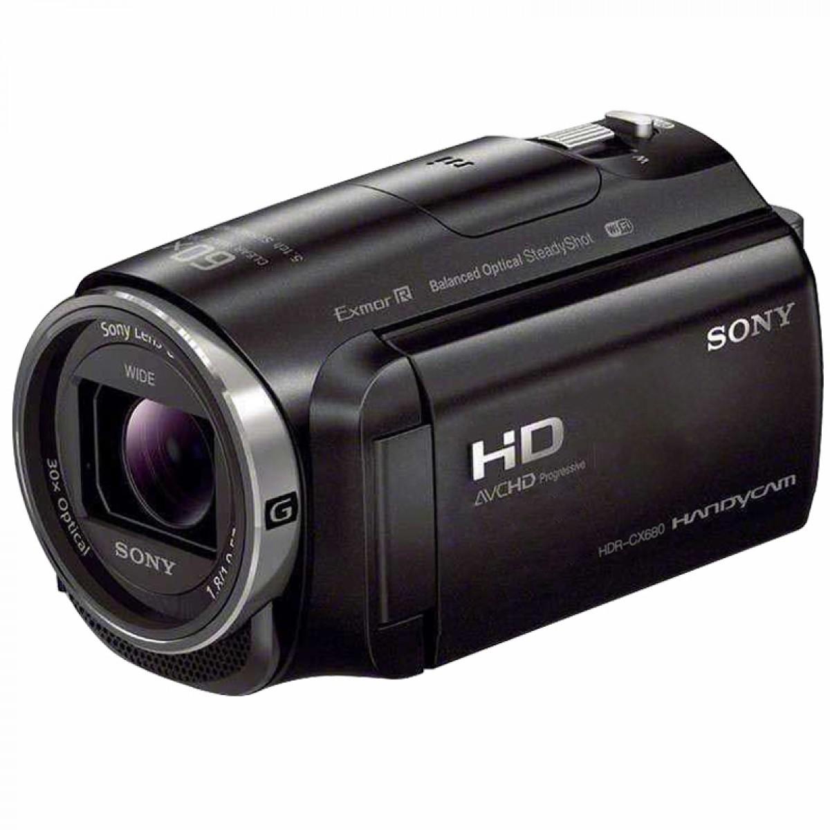 Sony/索尼 HDR-CX680 五轴防抖30倍光学变焦高清DV 直播婚庆触屏数码摄相机
