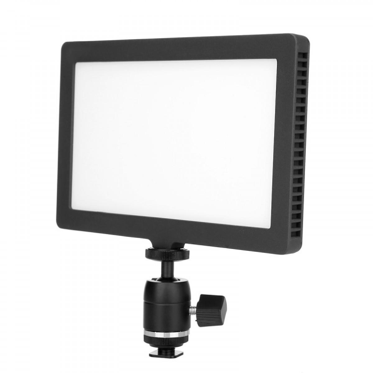 利帅 C-208AS 摄像灯LED摄影灯单反摄像机补光灯 人像常亮影视灯