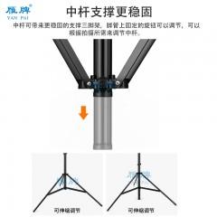 雁牌280摄影气垫灯架影室闪光灯柔光灯影棚附件气压缓冲三脚支架