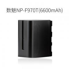 数魅 NP-F970F750F550 锂电LED摄影摄像补光灯外拍监视器专用电池