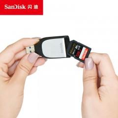 闪迪至尊超极速 SD UHS-II USB3.0 迷你高速 SD卡读卡器