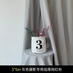 雁牌网红直播3X6m加厚绿色抠像布幕布照相摄影棚拍照摄影背景布
