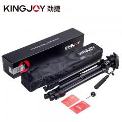 劲捷VT-1500专业摄像机三脚架液压阻尼相机佳能索尼摄影三角架