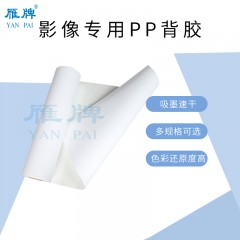 雁牌影像专用PP背胶 打印PP背胶 装饰画用PP背胶打印纸