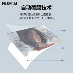 富士ASK500热升华打印机风景照证件照小型打印机照相馆图文店景区