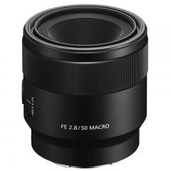 Sony/索尼 FE50mmF2.8全画幅微单标准50mm定焦微距镜头SEL50M28