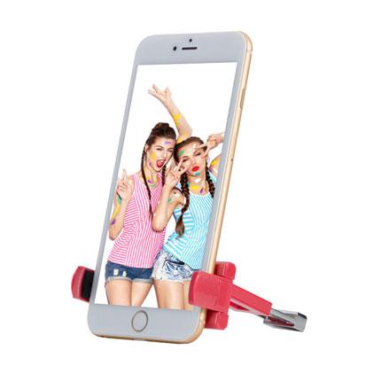 手机拍照自拍支架配件 智能手机夹卡西欧自拍相机手机夹