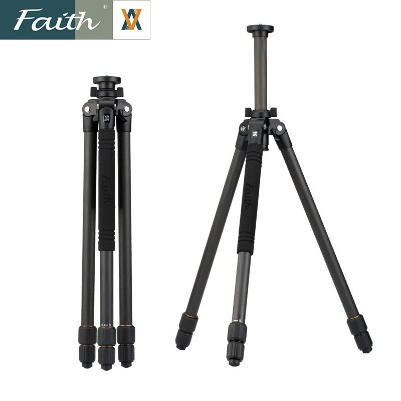 Faith辉驰 专业摄像机单反相机三脚架碳纤维碳素FT-B3201
