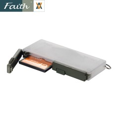 Faith 辉驰 CF卡盒 可装4张内存卡 附送SD卡套1张