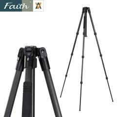 Faith辉驰FT-2B4202专业摄影反折碳素三脚架专利10+1层碳纤维脚架