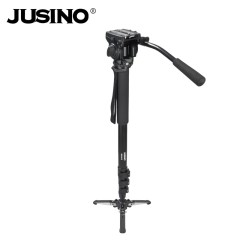 JUSINO/佳鑫悦 VM-361E 摄像独脚架 云台套餐 扳扣脚锁 支撑系统