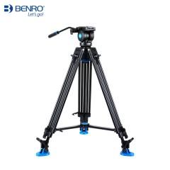 百诺KH26NL三脚架专业便携单反相机摄影摄像机三角架液压云台