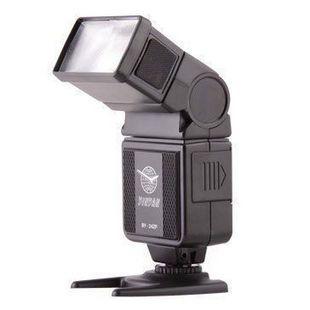 银燕By-24ZP通用闪光灯 兼容尼康佳能等相机 低压闪光灯