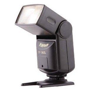 银燕低压触发型闪光灯 CY-28ZL 佳能尼康通用型闪光灯