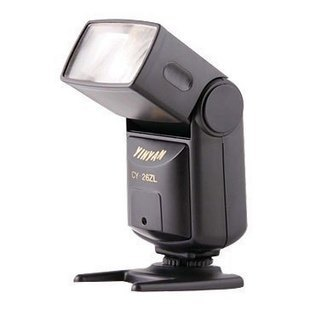 银燕低压闪光灯CY-26ZL 尼康 佳能 通用型闪光灯 一年质保