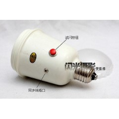 银燕SDW-45M电子伞灯闪光灯 带同步线 联闪孔 可接引闪器