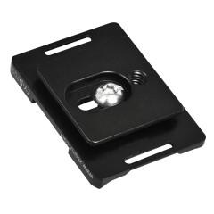 思锐TYD700 三脚架相机云台 尼康D700用 专业型快装板 支持竖拍