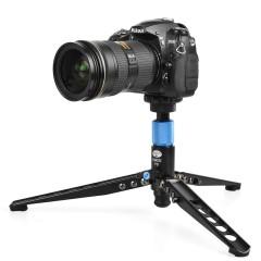 思锐P324SR 碳纤维独脚架 专业单反相机便携独角架 自立式三脚架
