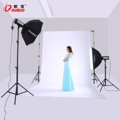 欧宝 TTF600W 摄影灯套装 专业影室闪光灯 摄影灯棚器材 服装人像