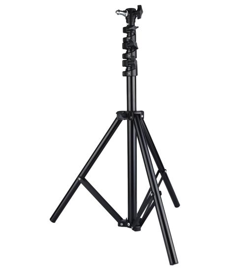 利帅 LS-320T 气垫 灯架 高度3.2米 高端 闪光灯支架 摄影灯架