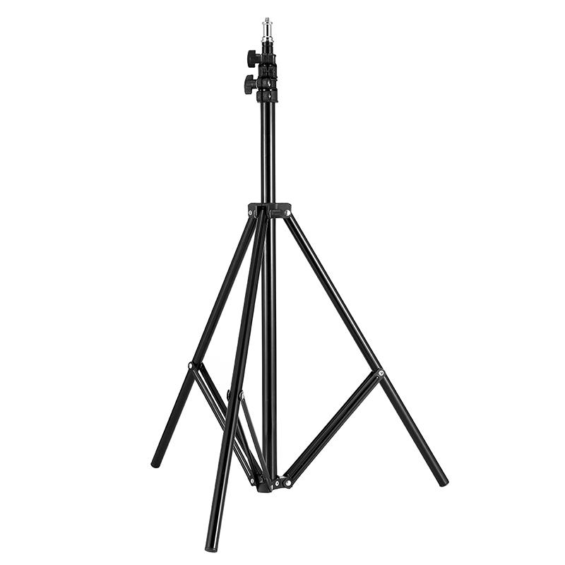 利帅 摄影灯架小型闪光灯支架专业便携折叠学生灯架 1.9米