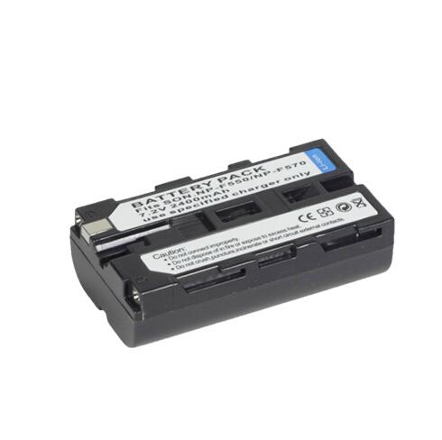 利帅 LED摄像灯锂电池 适用索尼F550/570