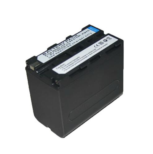 利帅 F970 LED摄像灯锂电池 适用索尼F970/950 包邮