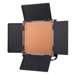 利帅 660A 大功率LED摄影灯 采访补光灯 新闻单反视频影棚摄像灯