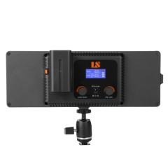 利帅 C-218AS 摄像灯LED摄影灯单反摄像机补光灯 人像常亮影视灯
