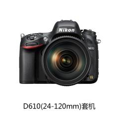 [旗舰店]Nikon/尼康 D610(24-120mm)套机 全画幅数码单反相机